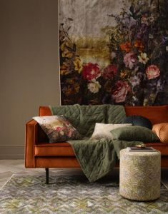 ESSENZA Fabienne Olive Teppich 120 x 180 cm