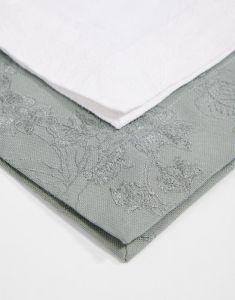 ESSENZA Fine Art Weiß Tischset 35 x 50 cm