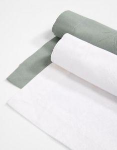 ESSENZA Fine Art Weiß Tischläufer 50 x 250 cm