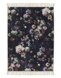 ESSENZA Fleur Nightblue Teppich 60 x 90 cm