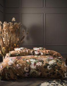 ESSENZA Fleur Cinnamon Dekbedovertrekset 240 x 220 cm