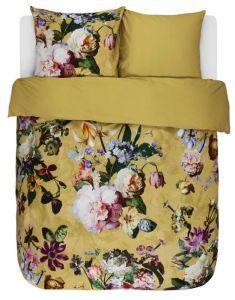 ESSENZA Fleur Golden yellow Dekbedovertrekset 200 x 220 cm