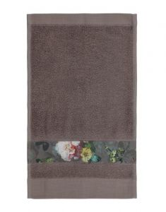 ESSENZA Fleur Taupe Gästetuch 30 x 50 cm