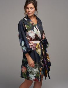 ESSENZA Fleur Nightblue Kimono XS