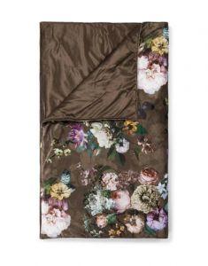 ESSENZA Fleur Chocolate Tagesdecke 240 x 100 cm