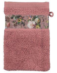 ESSENZA Fleur Dusty Rose Waschhandschuhe 16 x 22 cm