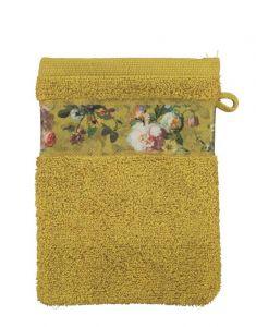 ESSENZA Fleur Gelb Waschhandschuhe 16 x 22 cm