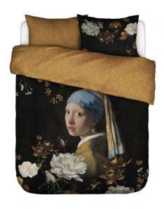 ESSENZA Floral Girl Zwart Dekbedovertrekset 240 x 220 cm