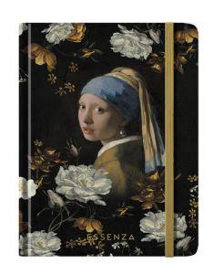 ESSENZA Flower girl Zwart Notitieboekje A5