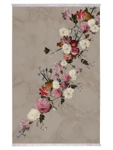 ESSENZA Flower Statement Stone Vloerkleed 120 x 180 cm