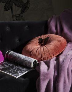 ESSENZA Furry Dusty Lilac Plaid 150 x 200 cm