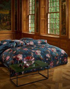 ESSENZA Gallery of Roses Nightblue Dekbedovertrekset 260 x 220 cm