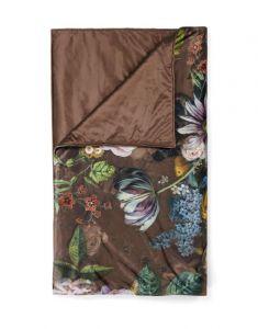 ESSENZA Giselle Chocolate Plaid 135 x 170 cm