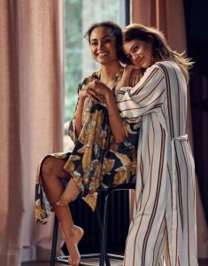 ESSENZA Ilona Gwyneth Nightblue Kimono S