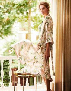 ESSENZA Ilona Rosalee Rose Kimono M