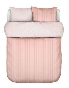Marc O'Polo Jarna Coral pink Dekbedovertrekset 240 x 220 cm