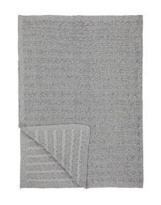 Marc O'Polo Javik Grau Plaid 130 x 170 cm