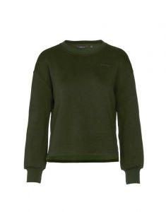 ESSENZA Jodie Uni Donkergroen Sweater M
