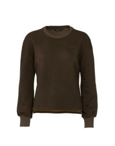 ESSENZA Jodie Uni Donkerbruin Sweater S