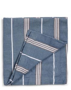 Marc O'Polo Jona Smoke Blue Serviette 45 x 45 cm