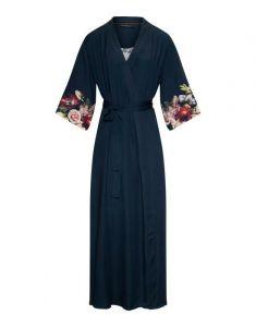 ESSENZA Jula Anneclaire Indigo Blue Kimono M