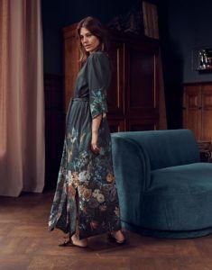 ESSENZA Jula Eleanor Nightblue Kimono XL
