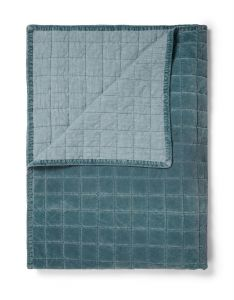 ESSENZA Julia Denim Blue Sprei 220 x 265 cm