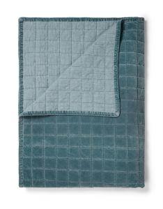 ESSENZA Julia Denim Blue Sprei 270 x 265 cm