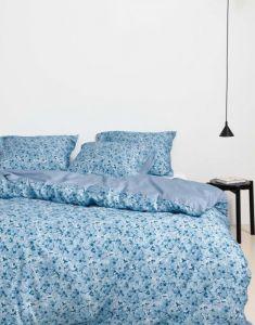 Marc O'Polo Lakua Nordic blue Dekbedovertrekset 260 x 220 cm
