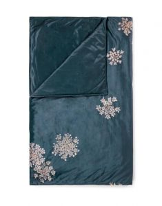ESSENZA Lauren Indigo Blue Tagesdecke 270 x 265 cm