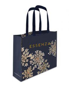 ESSENZA Lauren Indigo blauw Shopper bag 45 x 12 x 35 cm