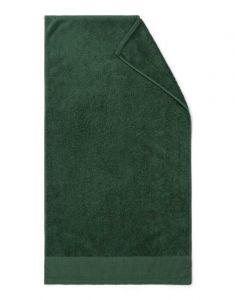 Marc O'Polo Linan Donkergroen Handdoek 50 x 100 cm