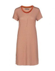 ESSENZA Loreen Striped Ginger Nachtjapon XS