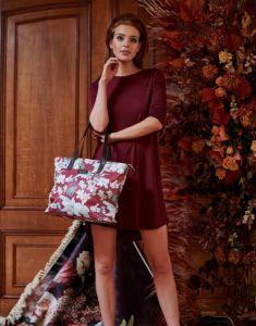 ESSENZA Lynn Rosalee Plum Shopper One Size