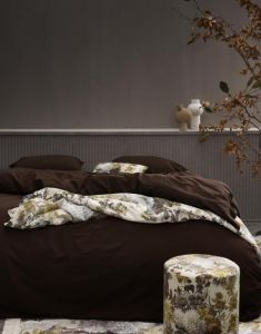ESSENZA Maily Olive Tagesdecke 240 x 100 cm