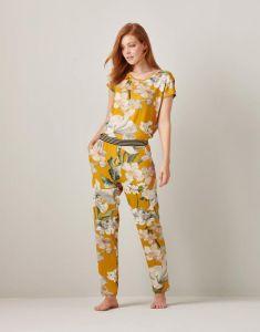 ESSENZA Maple Rosalee Gelb Lange Hose XL