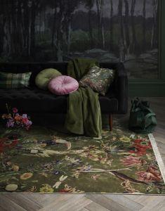 ESSENZA Marillyn Grün Dekokissen 30 x 50 cm