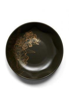 ESSENZA Masterpiece Donkergroen Pastabord 21 cm