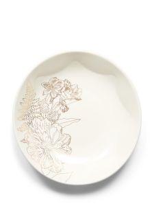 ESSENZA Masterpiece Off white Pastabord 21 cm