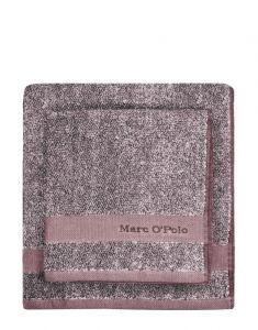 Marc O'Polo Melange Aubergine / Lavendel mist Gastendoek 30 x 50 cm