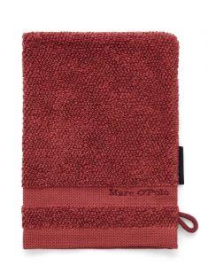 Marc O'Polo Melange Deep Rose / Warm Red Waschhandschuhe 16 x 22 cm