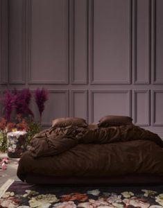 ESSENZA Minte Chocolate Dekbedovertrekset 240 x 220 cm