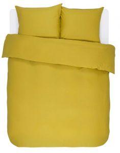 ESSENZA Minte Golden yellow Dekbedovertrekset 200 x 220 cm