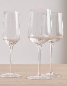 Marc O'Polo Moments Transparent Champagneglas Set 22 cl