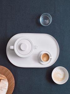 Marc O'Polo Moments Chalk White Espresso kop & schotel 10 cl