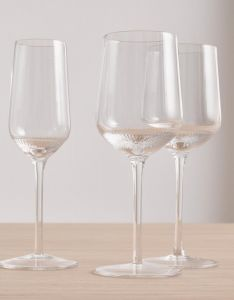 Marc O'Polo Moments Transparent Witte wijnglas Set 35 cl