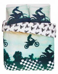 Covers & Co Motorcross Multi Dekbedovertrekset 240 x 220 cm
