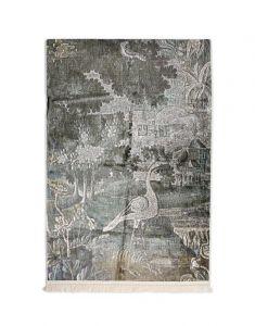 ESSENZA Nadia Sage green Wandkleed 120 x 180 cm