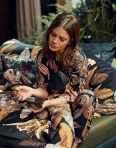ESSENZA Naomi Gwyneth Nightblue Lange broek M