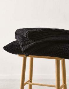 Marc O'Polo Nordic knit Zwart Sierkussen 30 x 60 cm